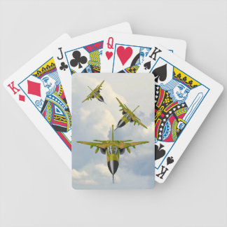 F111 FIGHTERS IN YOUR FACE BICYCLE PLAYING CARDS