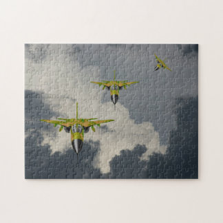 F111 FIGHTERS IN YOUR FACE PUZZLE
