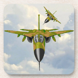 F111 IN YOUR FACE COASTER