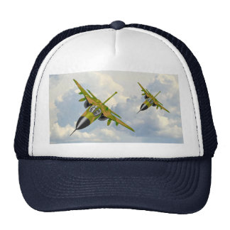 F111 IN YOUR FACE MESH HATS