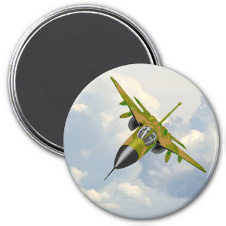 F111 IN YOUR FACE REFRIGERATOR MAGNET