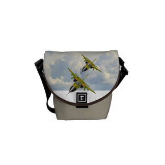 F111 IN YOUR FACE COURIER BAGS