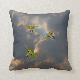 F111 IN YOUR FACE THROW PILLOW