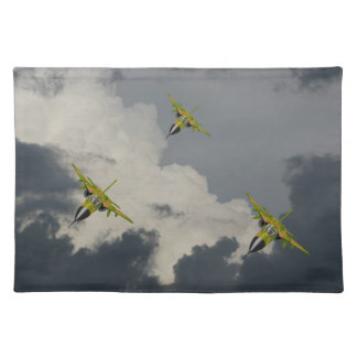 F111 IN YOUR FACE PLACE MAT