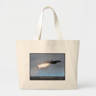 F111 Motivation Large Tote Bag
