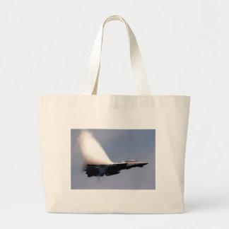 f14-14  VAPOR CLOUD Large Tote Bag