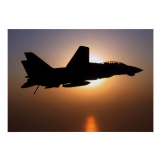 F14 On Sunset Patrol Poster