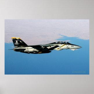 F14 Rodger alegre sobre Iraq Póster