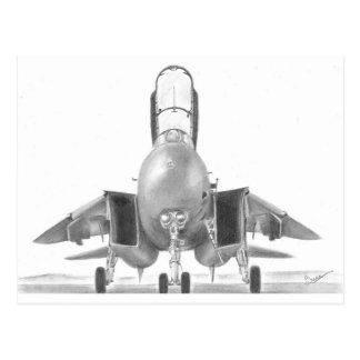 F14 Tomcat Card Postcard