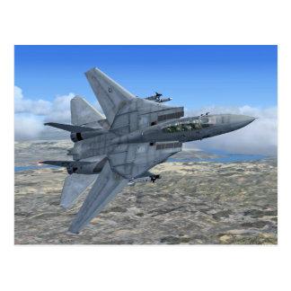 F14 Tomcat Postcard