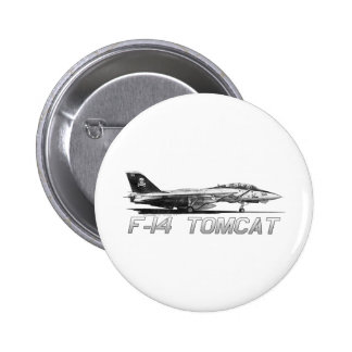F14 Tomcat VF-103 Jolly Rogers - drawing Button