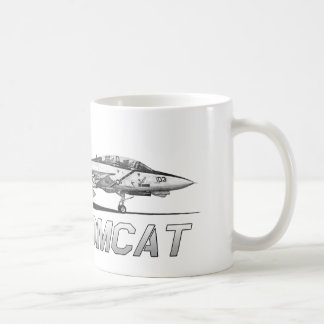 F14 Tomcat VF-103 Jolly Rogers - drawing Coffee Mug