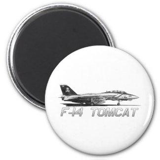 F14 Tomcat VF-103 Jolly Rogers - drawing Refrigerator Magnet