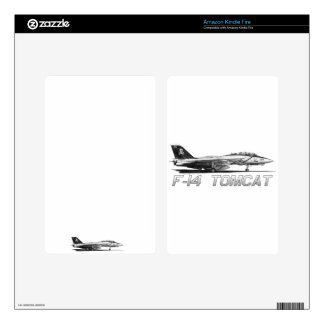 F14 Tomcat VF-103 Jolly Rogers - drawing Kindle Fire Skin