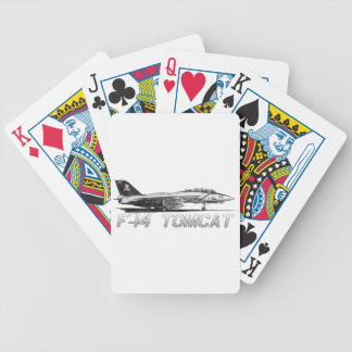 F14 Tomcat VF-103 Rogers alegre - dibujo Baraja Cartas De Poker