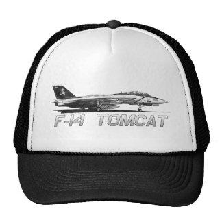 F14 Tomcat VF-103 Rogers alegre - dibujo Gorra