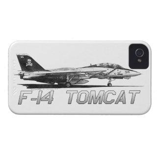 F14 Tomcat VF-103 Rogers alegre - dibujo iPhone 4 Coberturas