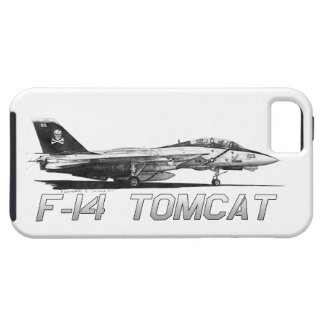 F14 Tomcat VF-103 Rogers alegre - dibujo iPhone 5 Carcasas