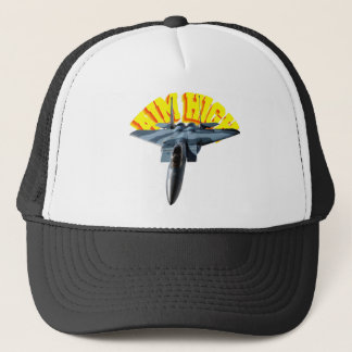 F15 AIM HIGH TRUCKER HAT