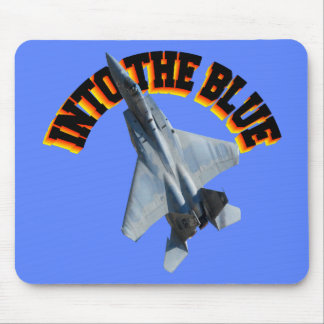 F15 INTO THE BLUE MOUSE PAD