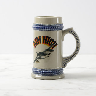F16 AIM HIGH BEER STEIN