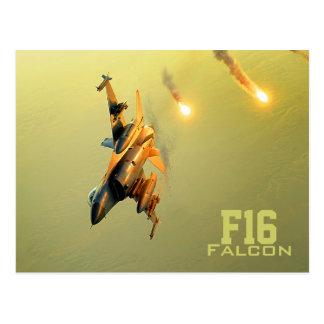 F16 Falcon postcard