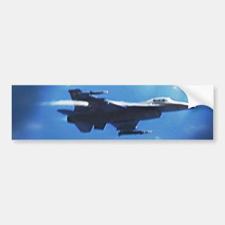 F16 Fighting Falcon In Flight Bumper Sticker