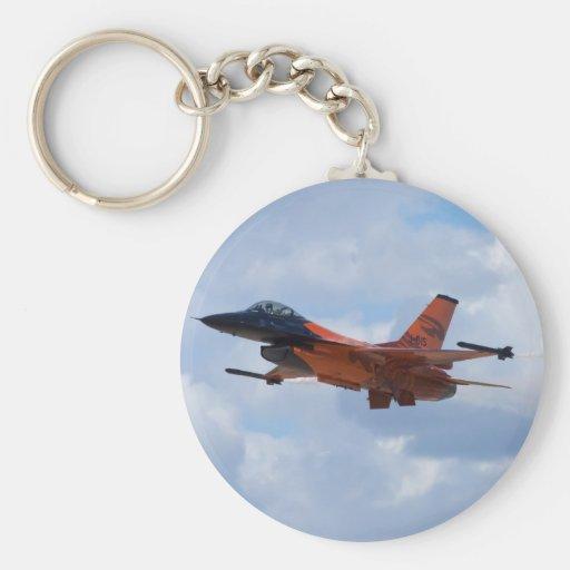 F16 Fighting Falcon Key Chain
