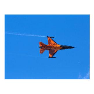 F16 Fighting Falcon Post Card
