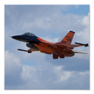 F16 Fighting Falcon Poster
