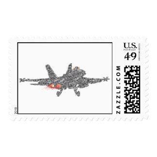 F18 Hornet Fighter Jet Postage Stamps
