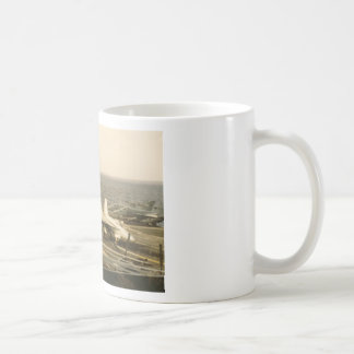 F18 Hornet Landing On The USS MIDWAY Classic White Coffee Mug