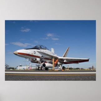 F18 Hornet Poster