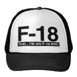 F18 MESH HATS