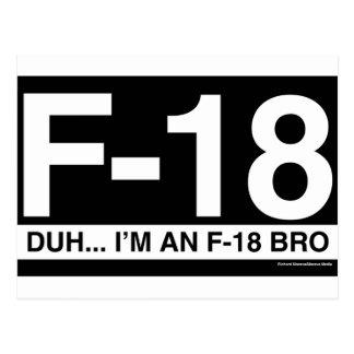 F18 TARJETA POSTAL