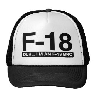 F18 TRUCKER HAT