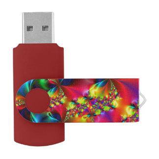 F196 SWIVEL USB 2.0 FLASH DRIVE