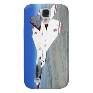 F22 Raptor Blue Angels Jet Fighter Plane Galaxy S4 Cover