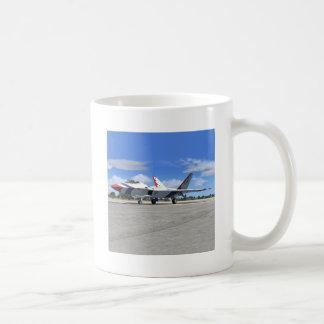 F22 Raptor Blue Angels Jet Fighter Plane Mug