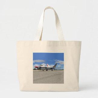F22 Raptor Blue Angels Jet Fighter Plane Tote Bag
