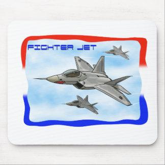 F22 Raptor fighter jet Mouse Pad