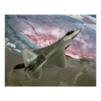 F22 Raptor Poster