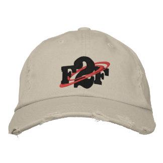 F2F Distressed Chino Twill Hat