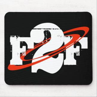 F2F logo mousepad