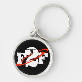 F2F Round Keychain