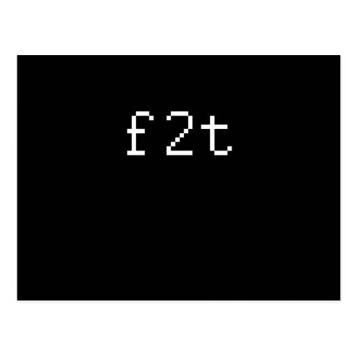 F2T POSTALES
