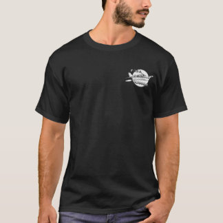 F33A with front pocket and Back color artwork T-Shirt