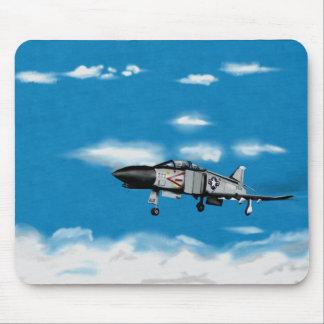 F4 Phantom  Navy Jet Fighter Mouse Pad