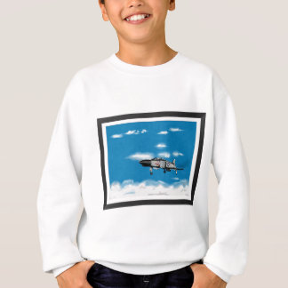 F4 Phantom  Navy Jet Fighter Sweatshirt