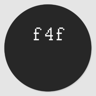 F4F PEGATINAS